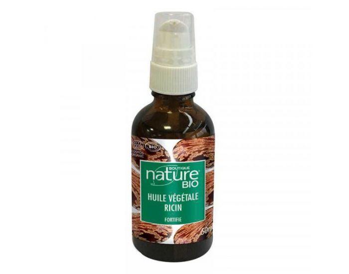 BOUTIQUE NATURE Huile Végétale de Ricin Bio - 50 ml