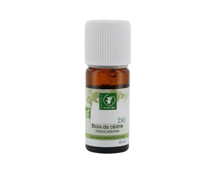 BOUTIQUE NATURE Huile essentielle Bois de Cèdre Atlas Bio - 10 ml