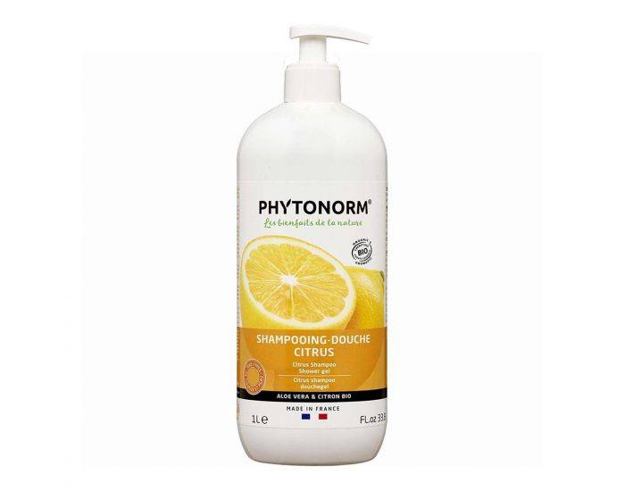 PHYTONORM Shampooing-Douche Citrus Bio - 1L