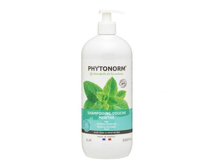 PHYTONORM Shampooing-Douche Menthe Bio - 1L