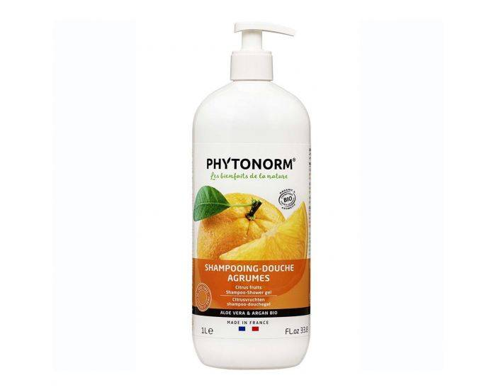PHYTONORM Shampooing-Douche Agrumes Bio - 1L