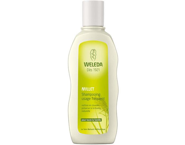 WELEDA Shampooing au Millet - Usage Fréquent - 190 ml