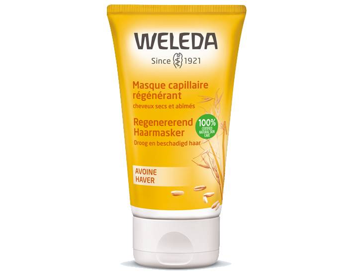 WELEDA Masque Capillaire Régénérant à l'Avoine - 150 ml