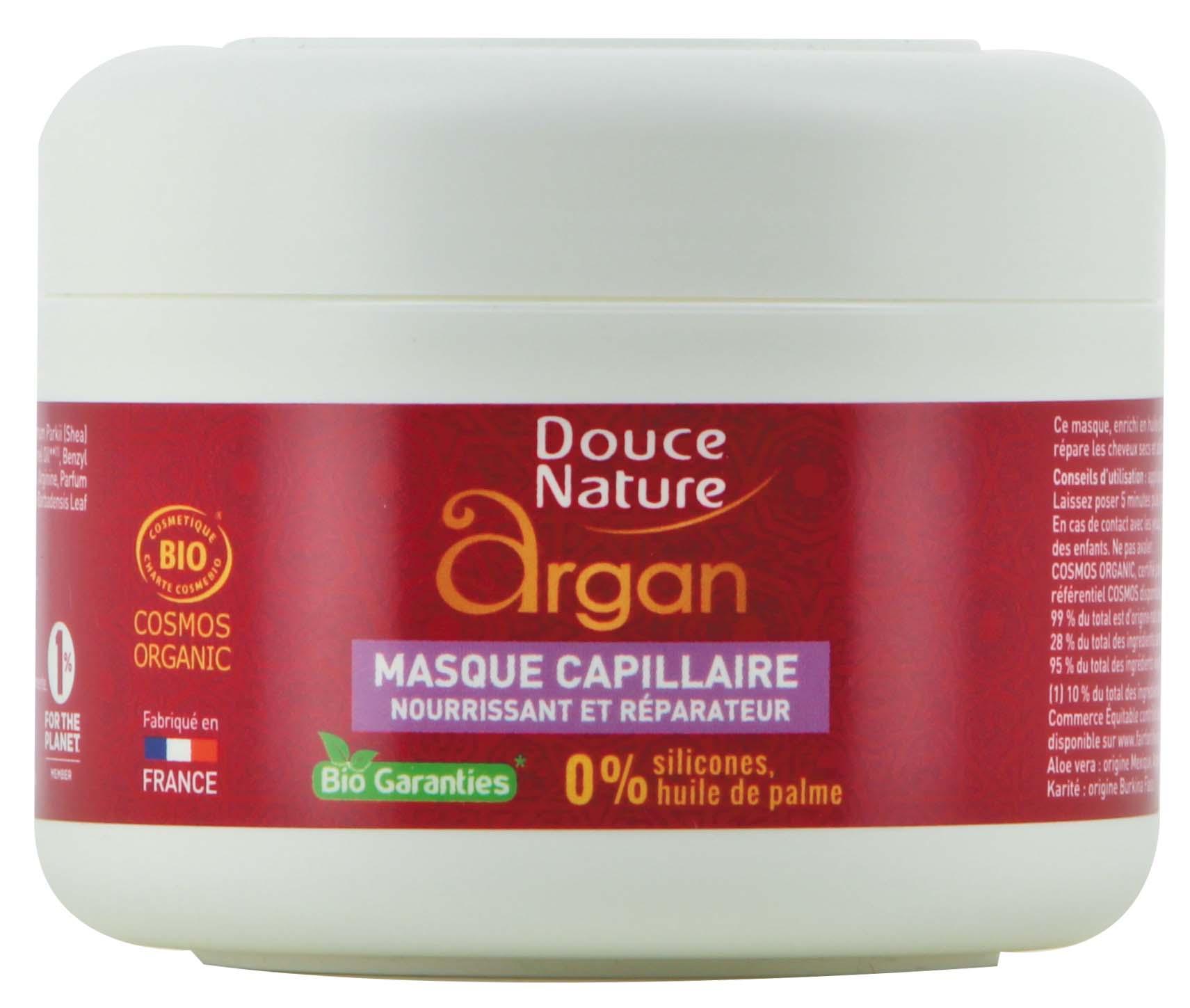 DOUCE NATURE ARGAN Masque Capillaire - 200 ml