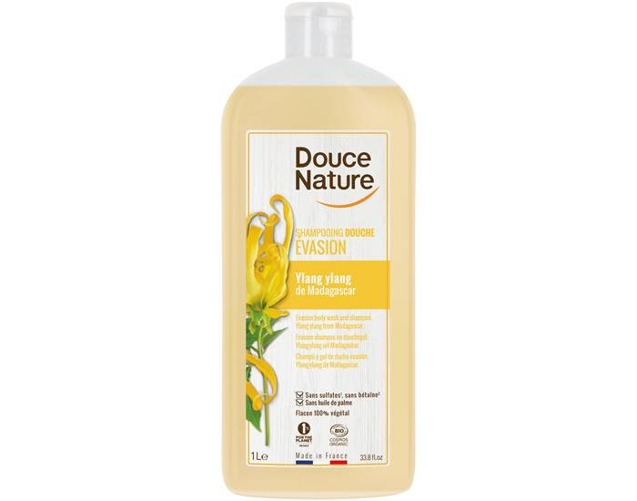 DOUCE NATURE Shampooing Douche Evasion Yang - 1L