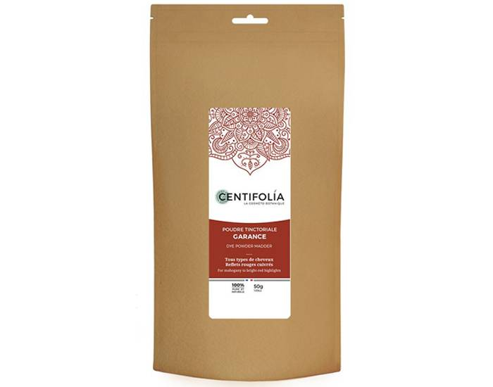 CENTIFOLIA Coloration Végétale - Garance - 50 g