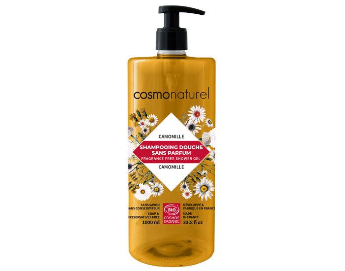 COSMO NATUREL Shampooing Douche Sans Parfum - 1L
