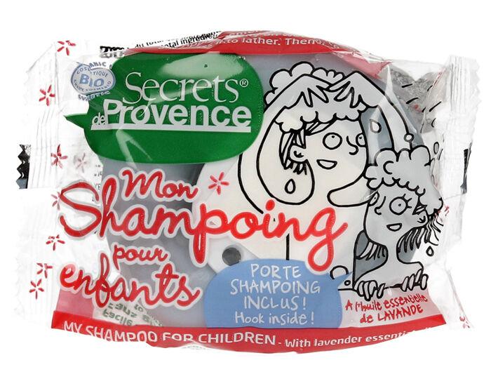 SECRETS DE PROVENCE Shampooing Solide pour Enfant - 85 g Avec Crochet