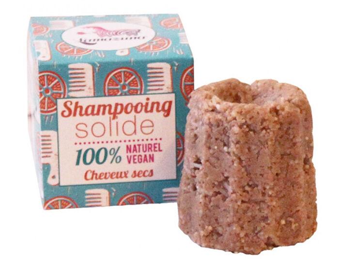 LAMAZUNA Shampooing Solide Cheveux Secs - Orange - 55 g