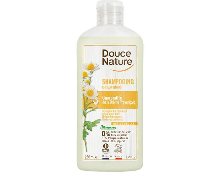 DOUCE NATURE Shampooing Reflets Cheveux Blonds - 300 ml