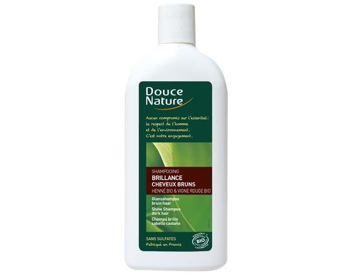 DOUCE NATURE Shampooing Brillance Cheveux Bruns - 300 ml