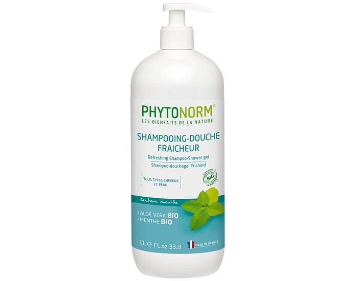 PHYTONORM Shampooing-Douche Fraîcheur - Senteur Menthe - 1 L