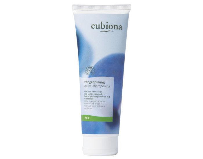 EUBIONA Après-Shampooing - Huile de Pépins de Raisin et extrait de Citron 125 ml