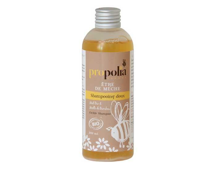 PROPOLIA Shampooing Doux Bio, Miel et Bambou 200 ml