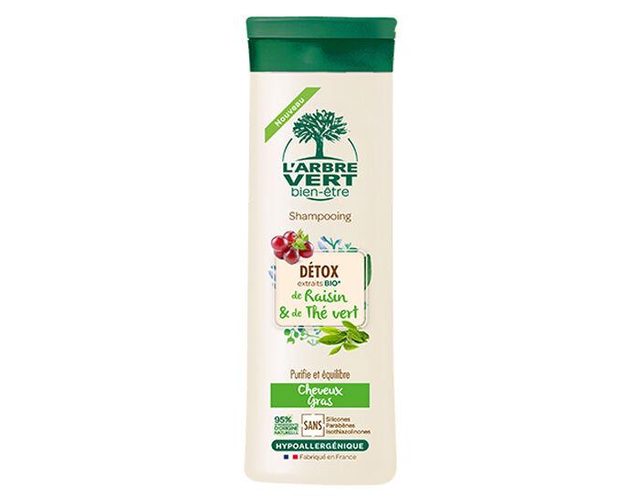 L'ARBRE VERT BIEN-ÊTRE Shampooing Detox - Cheveux Gras - 250 ml