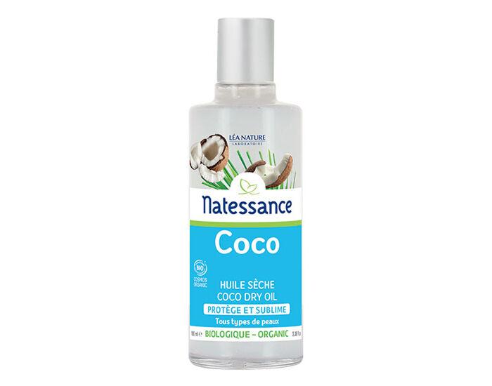 NATESSANCE Huile Sèche Coco Bio - 100 ml