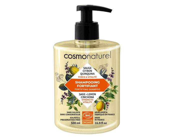 COSMO NATUREL Shampooing Fortifiant 500ml