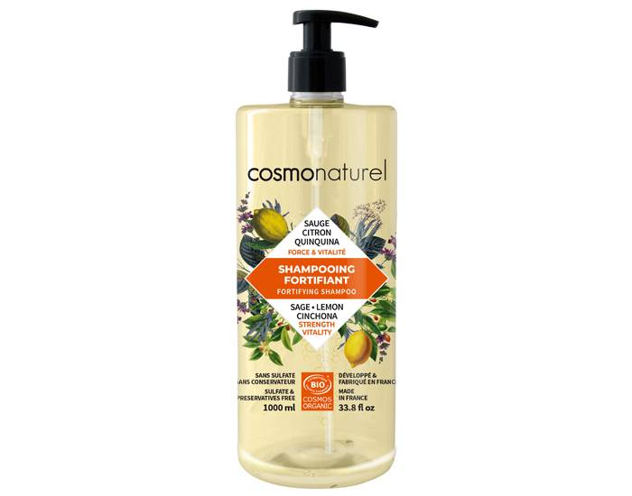 COSMO NATUREL Shampooing Fortifiant 1L