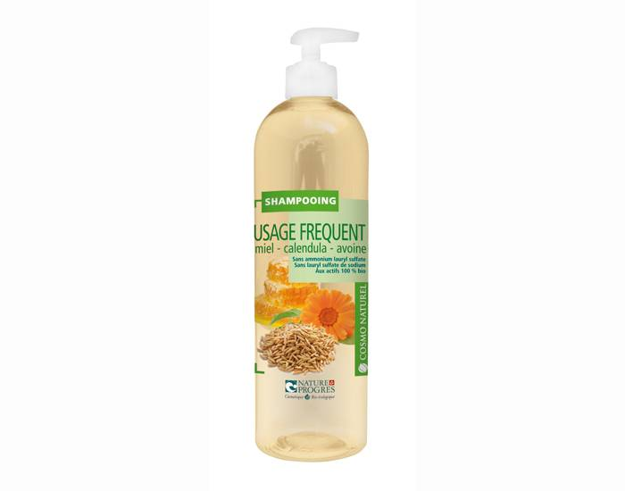 COSMO NATUREL Shampooing Usages Fréquents 500ml