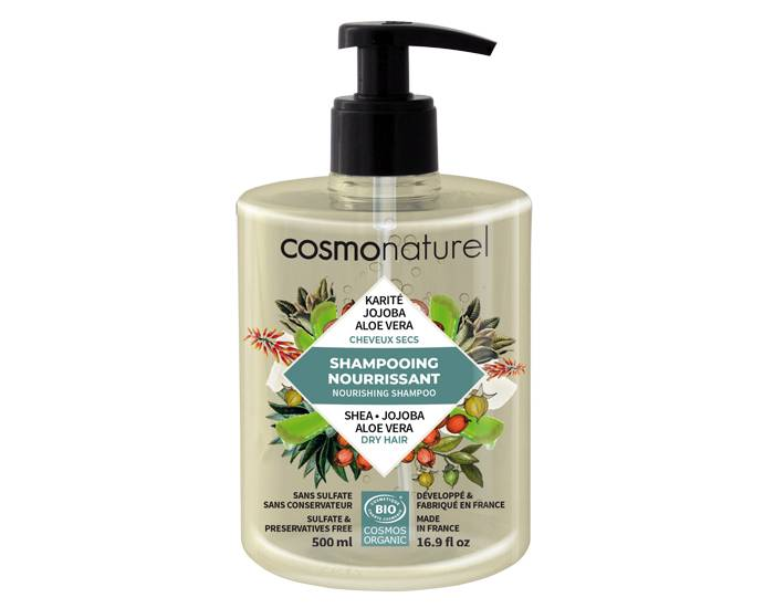COSMO NATUREL Shampooing Cheveux Secs 500ml
