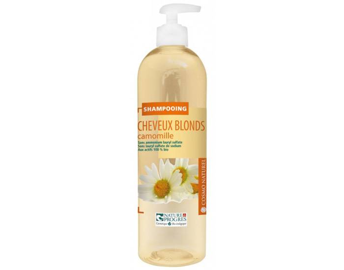 COSMO NATUREL Shampooing Cheveux Blonds 500ml