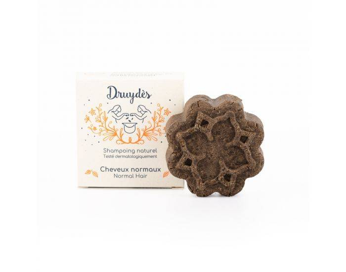 DRUYDES Shampoing Naturel cheveux Normaux Avec emballage