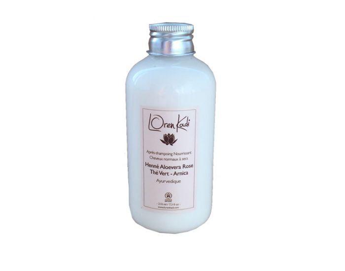 LOREN KADI Après-Shampoing Henné Aloe Vera Rose - 210ml