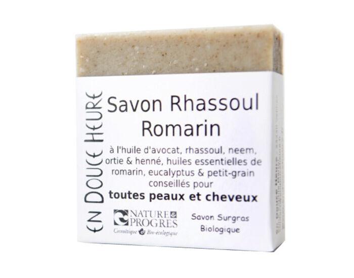 EN DOUCE HEURE Savon et Shampooing Solide sans Huile de Palme - Rhassoul Romarin