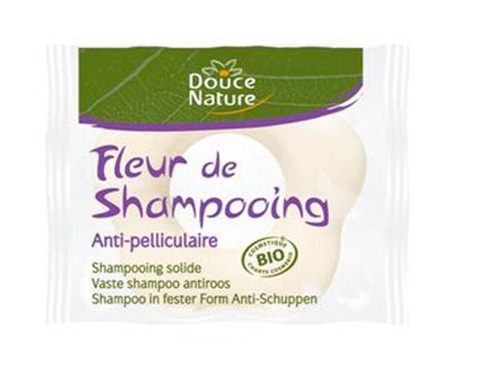 DOUCE NATURE Fleur de Shampooing Anti-pelliculaire - 80 g
