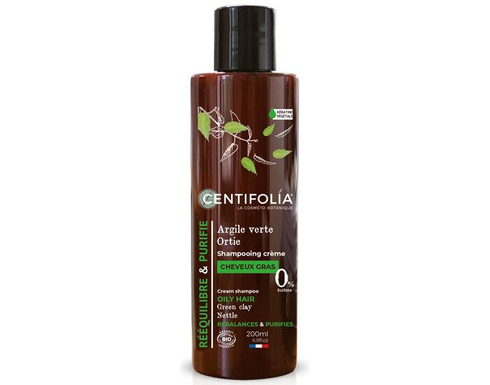 CENTIFOLIA Shampoing Crème Cheveux Gras 200ml