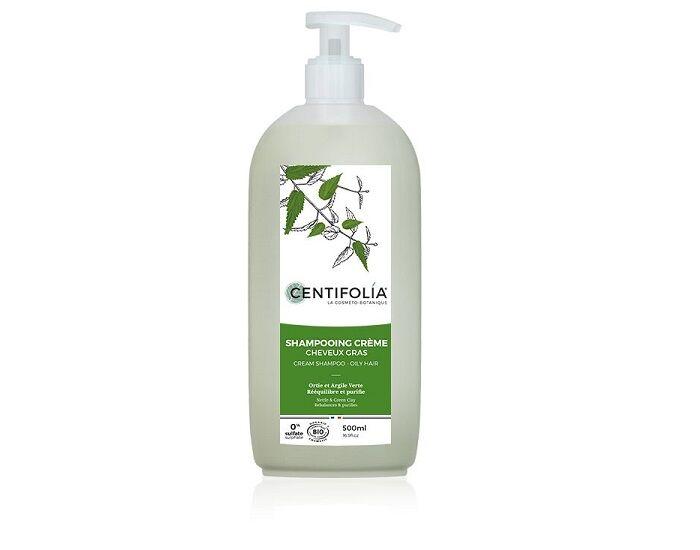 CENTIFOLIA Shampoing Crème Cheveux Gras 500ml