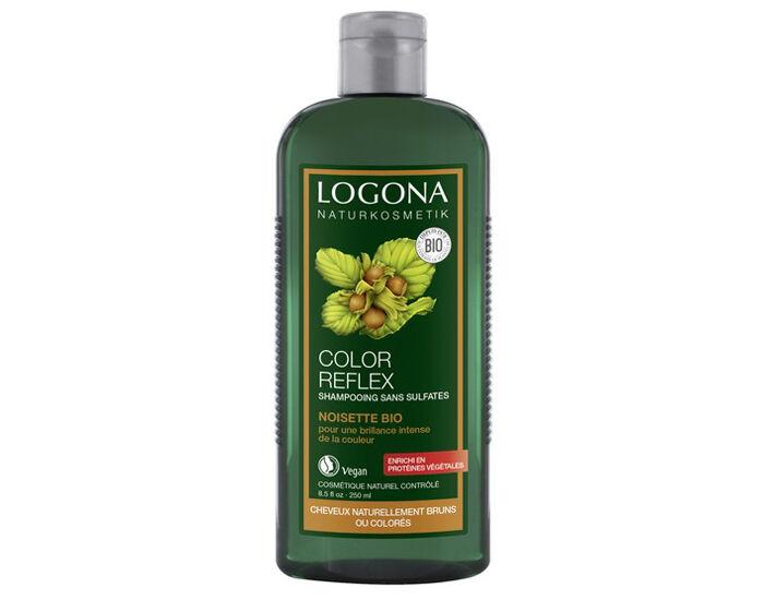 LOGONA Shampooing Reflets Noisette - 250 ml