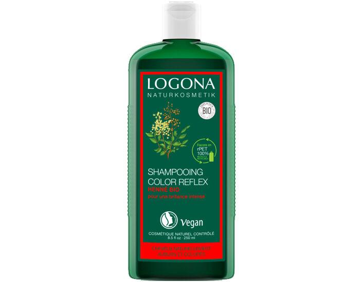 LOGONA Shampooing Reflets au Henné - 250 ml