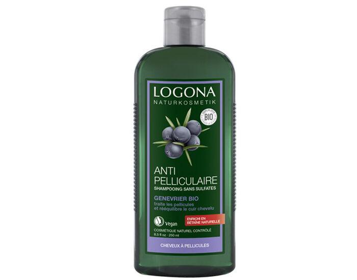LOGONA Shampooing Anti-pelliculaire au Génévrier - 250 ml