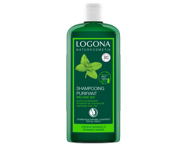 LOGONA Shampooing Normalisant à la Mélisse - 250 ml
