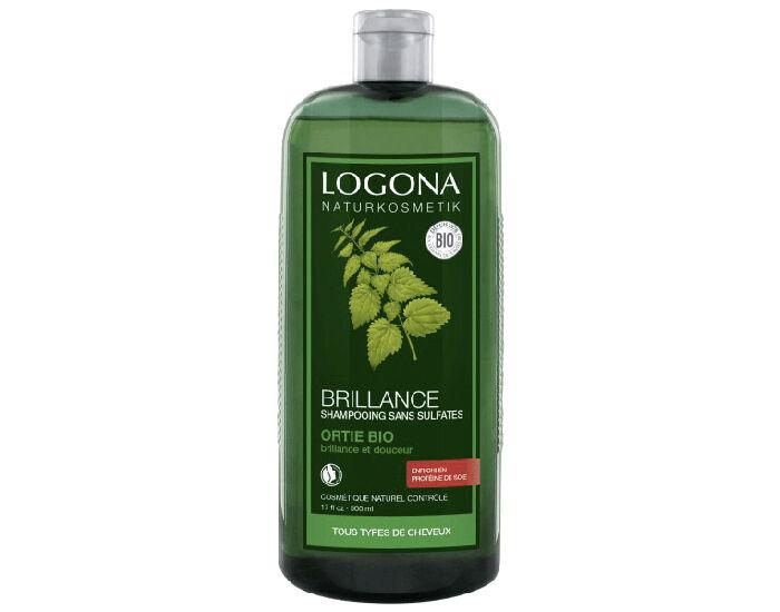 LOGONA Shampooing Brillance à l'Ortie 500 ml