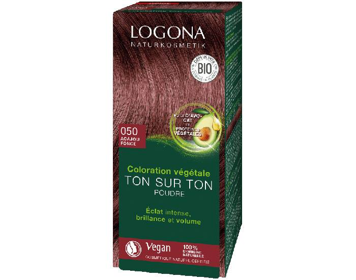LOGONA Soin Colorant Végétal Acajou - 100 g