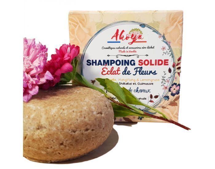 AKOYA Shampoing Solide au Miel et YlangYlang - 50g
