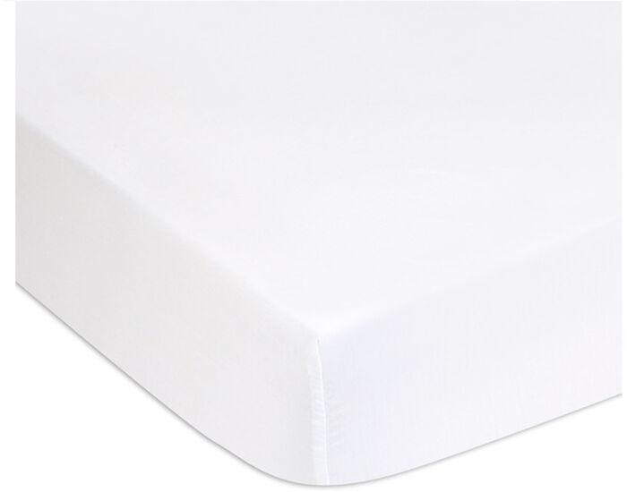 EASYDORT Alèse en Coton Bio Blanc - 60 x 120 cm