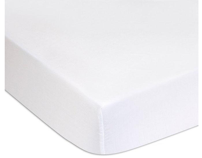 EASYDORT Lot de 2 Alèses en Bambou - Blanc 60 x 120 cm