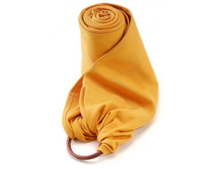 NEOBULLE My Sling Echarpe de Portage avec Anneau Jersey Coton Bio Ambre