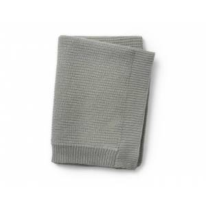 ELODIE DETAILS Couverture Tricot Laine Mineral Green