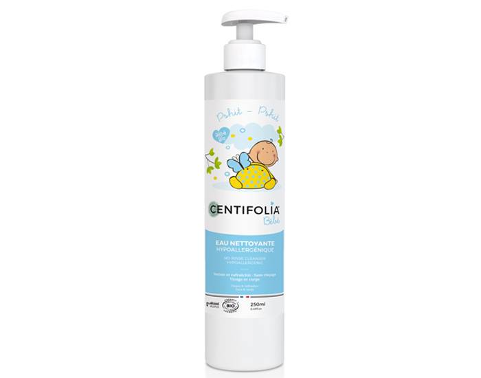 CENTIFOLIA BEBE Eau Nettoyante sans Rinçage - 250 ml