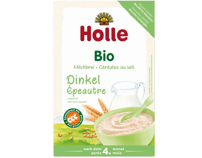 HOLLE Bouillie d'Épeautre Complet - Dès 4 mois