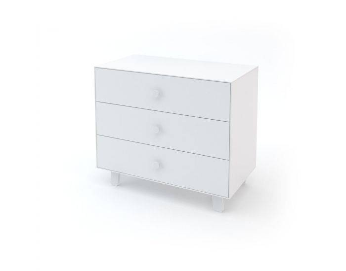OEUF NYC Commode Merlin 3 tiroirs Sparrow Blanc