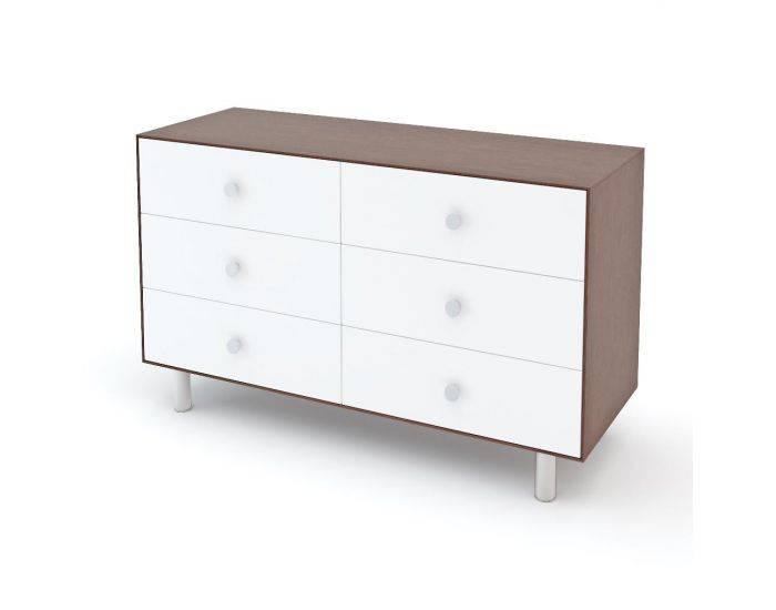 OEUF NYC Commode Merlin 6 tiroirs Classic Noyer