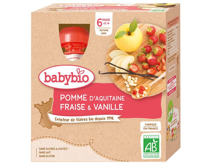 BABYBIO Gourdes - 4x90g - Dès 6 ...