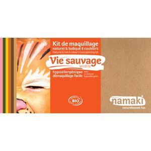 NAMAKI Kit de Maquillage 8 Couleurs - Vie Sauvage