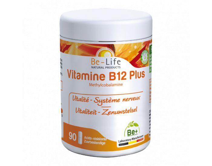 BE-LIFE Vitamines B12 PLUS - 90 gélules