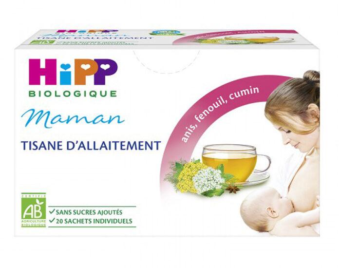 HIPP Tisane d'Allaitement pour Maman - 20 Sachets Individuels